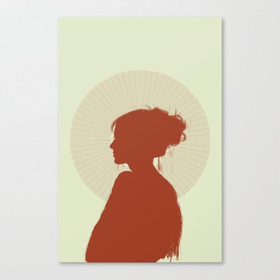 Woman Color 4 Canvas Print
