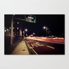the night life Canvas Print