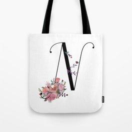 Modern Calligrapy Tote Bag