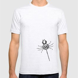 Spiders, spiders, everywhere T-shirt