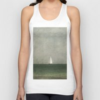 sailing Tank Tops featuring Sailing by Honey Malek