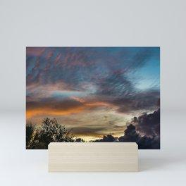 Last Clouds Mini Art Print