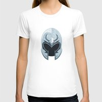 magneto T-shirts featuring Magneto helmet only by Tony Vazquez