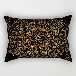 mandala arabi flower Rectangular Pillow