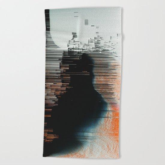 Disruptive Beach Towel
