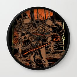 SAMURAI 3 Wall Clock