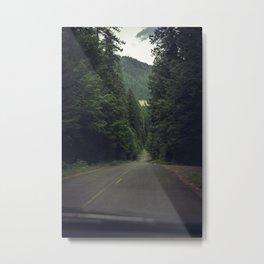Paths in Oregon Metal Print