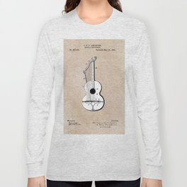 patent art Abelspies 1893 Musical Instrument Long Sleeve T-shirt