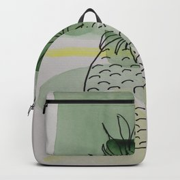 Pineapple Abstract Backpack