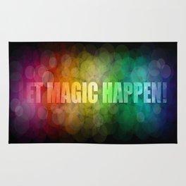 Let magic happen! Rug