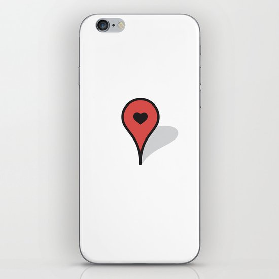 Where The Heart Is iPhone & iPod Skin
