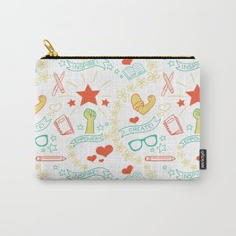 Feminist Pattern 2 Carry-All Pouch