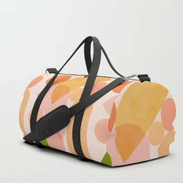 Abstraction_SHAPES_COLOR_Minimalism_002 Duffle Bag