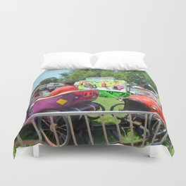 Jalopy Junction Duvet Cover