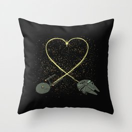 Wars Love Throw Pillow