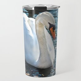 The white swan Travel Mug
