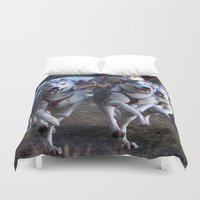 running Duvet Covers featuring Running by paulineamphlett