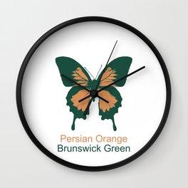Ulysses Butterfly 10 Wall Clock