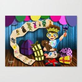 Birthday Boy  Canvas Print