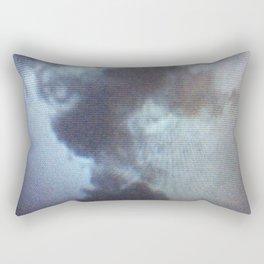 Ephemeral Rosebud Rectangular Pillow