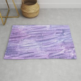Soap abstract watercolor Rug