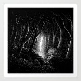 Drawlloween 2013: Alien Art Print