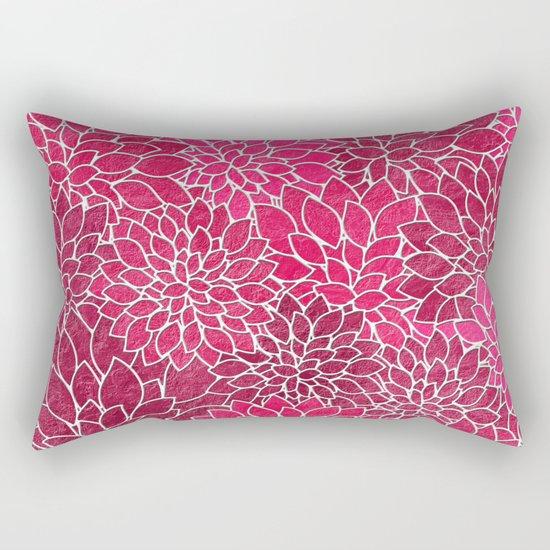 Floral Abstract 19 Rectangular Pillow