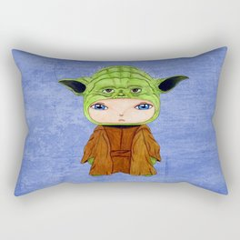 A Boy - Yoda Rectangular Pillow