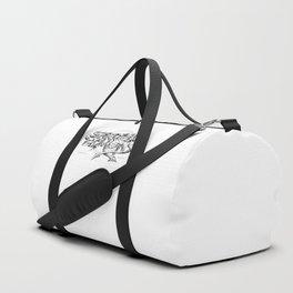 Spiritual Demons Handmade Duffle Bag