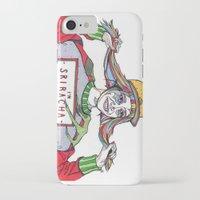 sriracha iPhone & iPod Cases featuring I'm Sriracha Hot by Yusun K