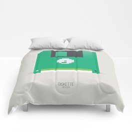 Pixelated Technology - Diskette Comforters