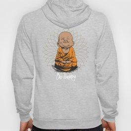 Be Happy Little Buddha Hoody