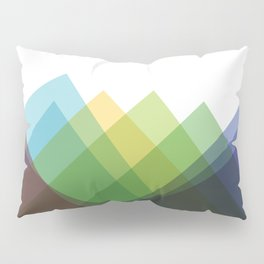 Fig. 002 Colorful Mountains Pillow Sham