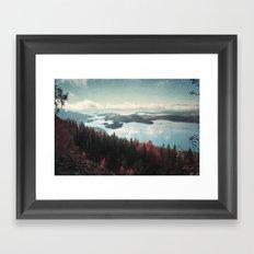 The Fjord Framed Art Print