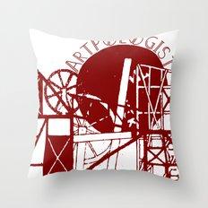 Artpologist Constructivist Logo Throw Pillow
