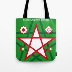 Maghreb Maroc Algérie Tunisie Travel Art Print Poster Decoration Tote Bag