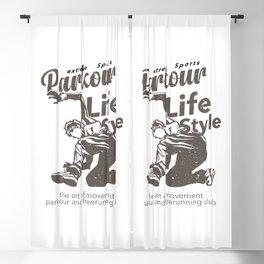 Parkour Life Style Blackout Curtain