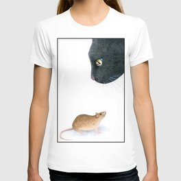 Cat 604 mouse T-shirt