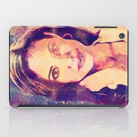 angelina jolie iPad Cases featuring JOLIE by Ruy Arte Hewitt