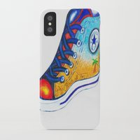 converse iPhone & iPod Cases featuring Converse by Artandphotodreams