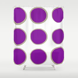 Reversed Detour Shower Curtain