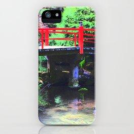 Red Bridge 2 iPhone Case