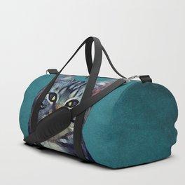 Cat #cat #kitty Duffle Bag