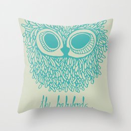 The Babybirds Owl Throw Pillow
