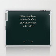 Greta Garbo Laptop & iPad Skin