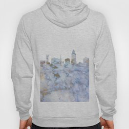 Lincoln Nebraska Skyline Hoody