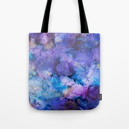 Flirting with Disaster Alcohol Ink Painting Tote Bag