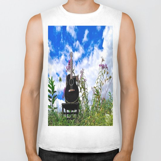 Playing the Field Biker Tank