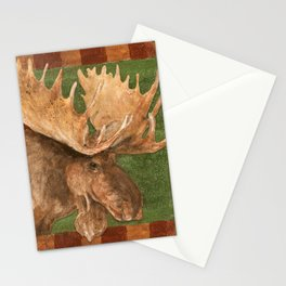 Lodge Moose Stationery Cards