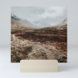 Scottish Highlands Art Print   Nature Photography   Scotland Glen Coe Mini Art Print